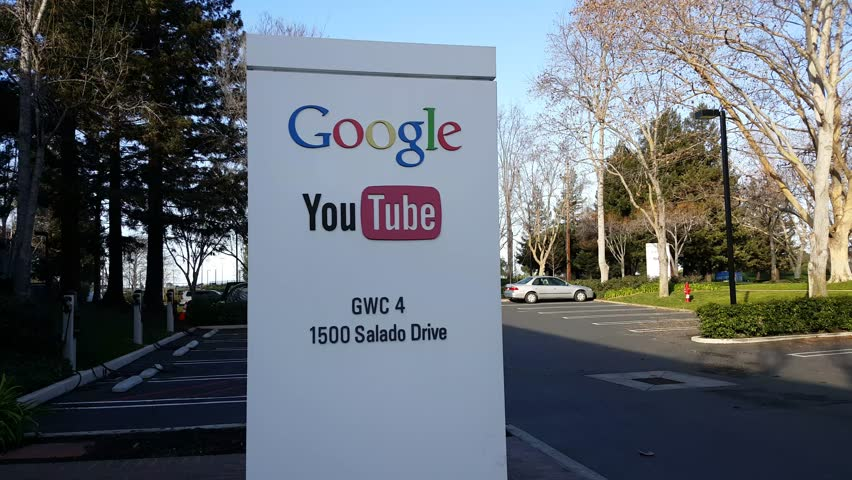 MOUNTAIN VIEW, CA/USA   JANUARY 24: Exterior View Of Googleu0027s Youtube Office  In Mountain View, CA On Jan 24, 2016. Google Specializes In Internet  Related ...