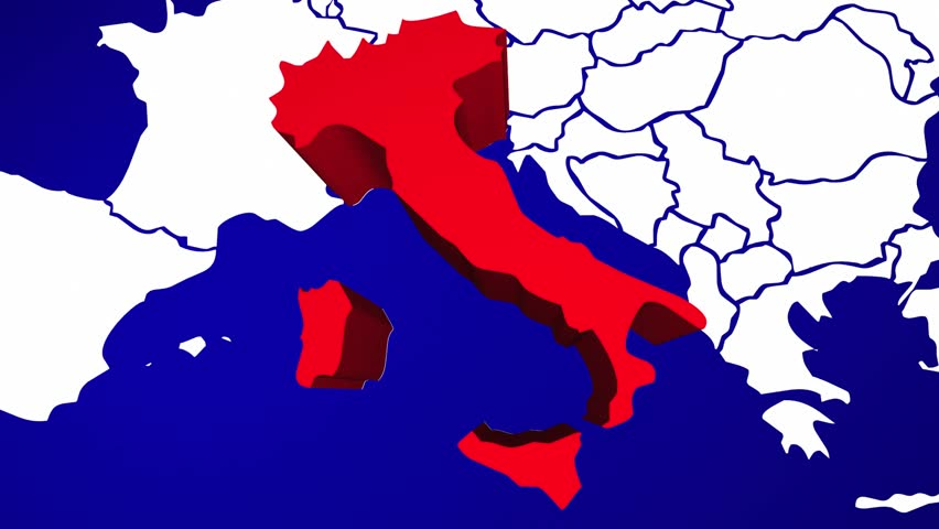 Italy europe country nation map zoom in close up geography stock italy europe country nation map zoom in close up geography stock footage video 14226056 shutterstock gumiabroncs Choice Image