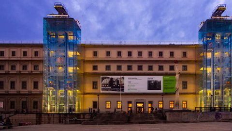 Museo Reina Sofia Stock Video Footage 4k And Hd Video Clips