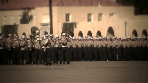 MCRD San Diego, CA - Marine Corps marching band