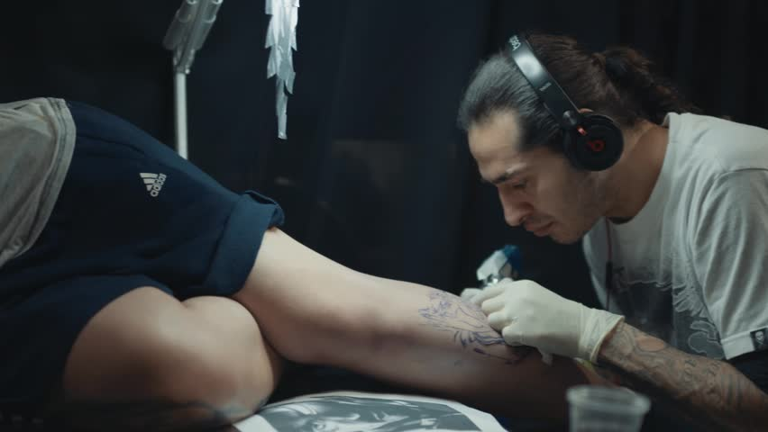 Movie clips tattoo parlor