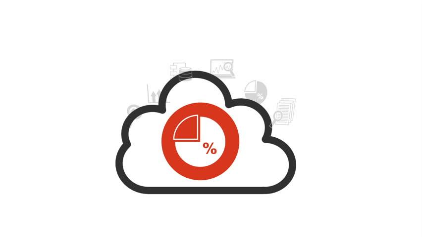 stock video of statistics icon design  video animation