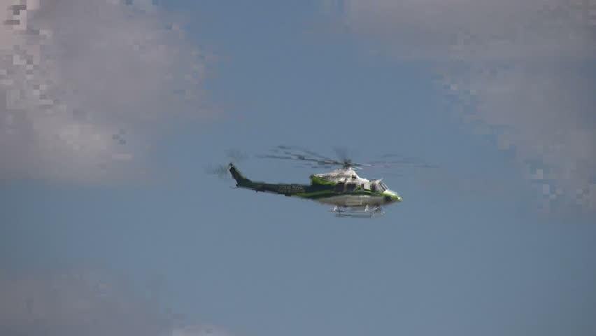 Miami Dade Fire Rescue helicopter