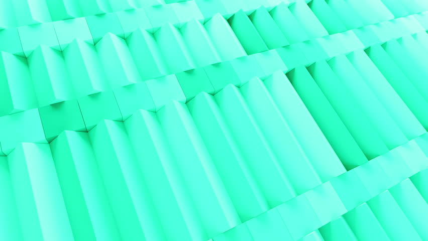Abstract rectangular and box elements background with randomly rotated elements, 3d render or boxes and rectangles with fillet edges, loopable  | Shutterstock HD Video #14590276