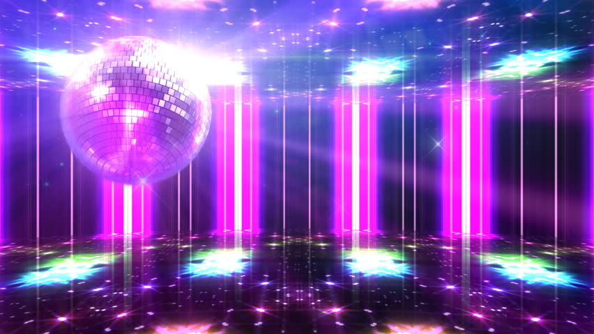 Las Vegas Strip Night Hd Video Clip 582382: Stock Video Of Disco And Club Space Background.
