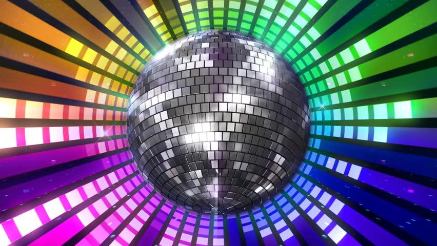 4k Disco Hypnotic Light Centerd Vj Loop Disco Effect: Disco Lights Stock Footage Video 760012
