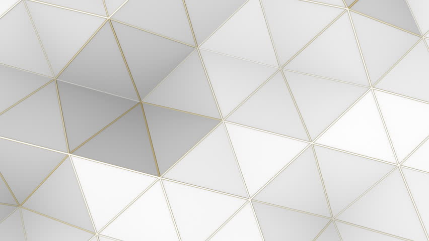 3d Blue Abstract Mesh Background Circles Stock Vektor: 3d White Abstract Geometric Polygon Surface Motion