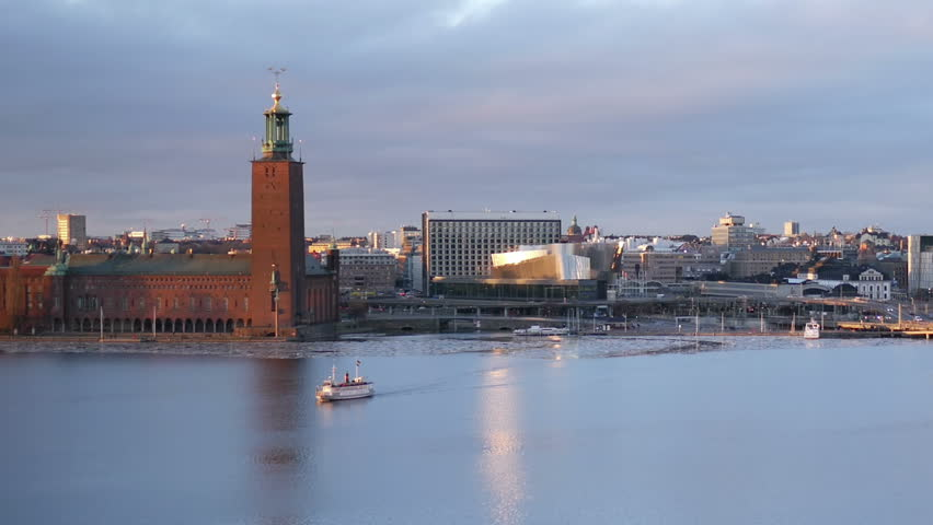 The city hall, Stockholm  | Shutterstock HD Video #14905906