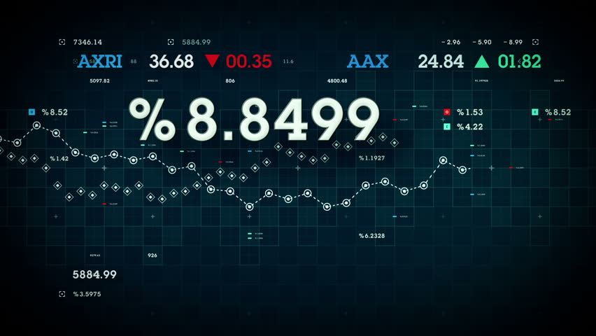 Market Data - Business and market data developing over time. Available in multiple colors. Loops seamlessly. | Shutterstock HD Video #15016327