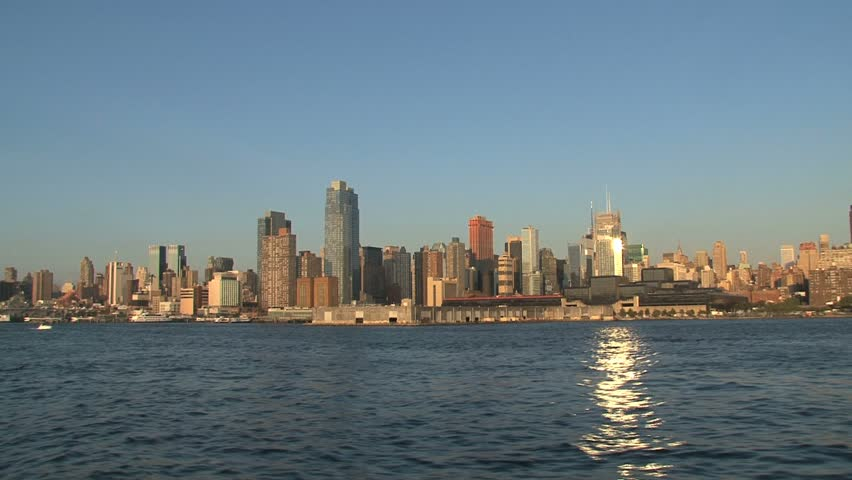 NEW YORK - CIRCA OCTOBER 2010: New York City skyline circa October 2010 in New York, NY. | Shutterstock HD Video #1508276