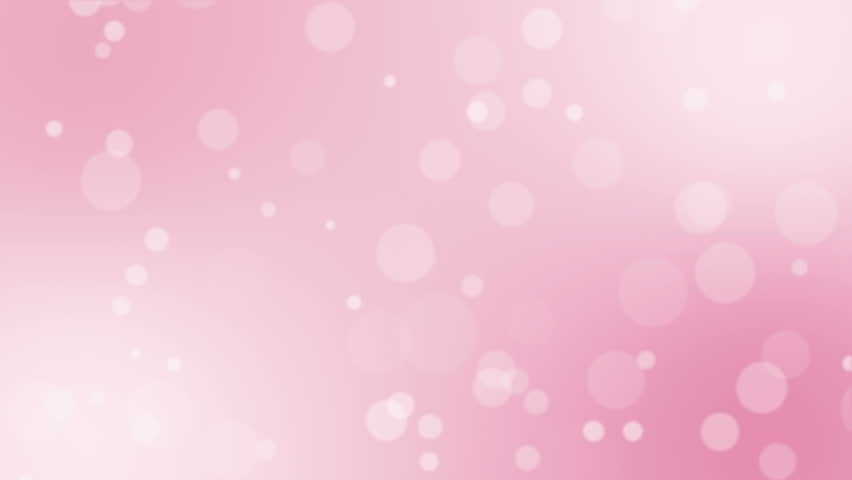 Glowing Circular Lights Pink Color Stock Footage Video
