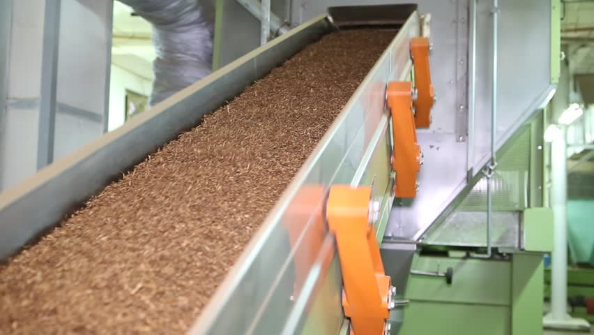 tobacco drying process, cigarette manufacturing