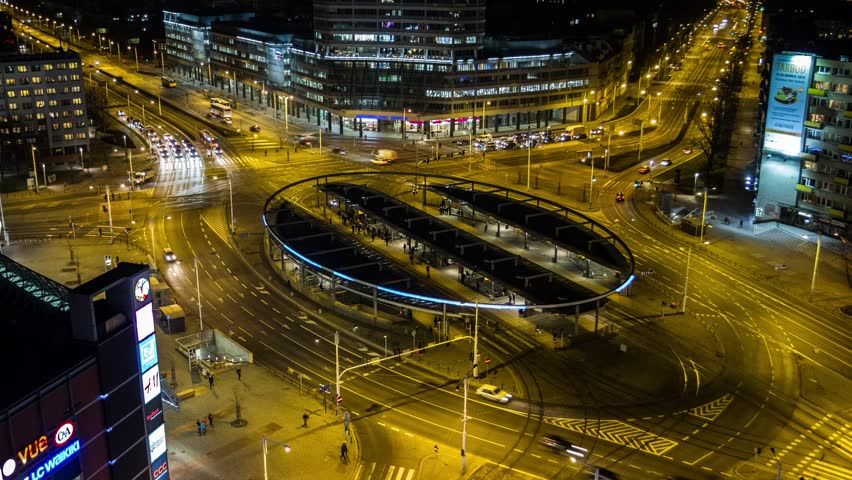 Time Lapse - Wroclaw, Poland, Wroclaw, city skyline, Breslau, architecture and