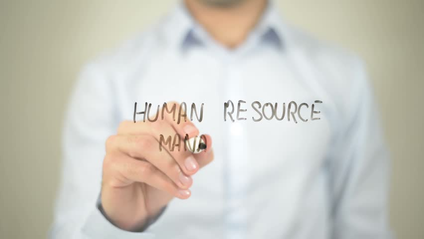 Human Resource Management , Writing on Transparent Wall or Screen (Illustration ) | Shutterstock HD Video #15220606