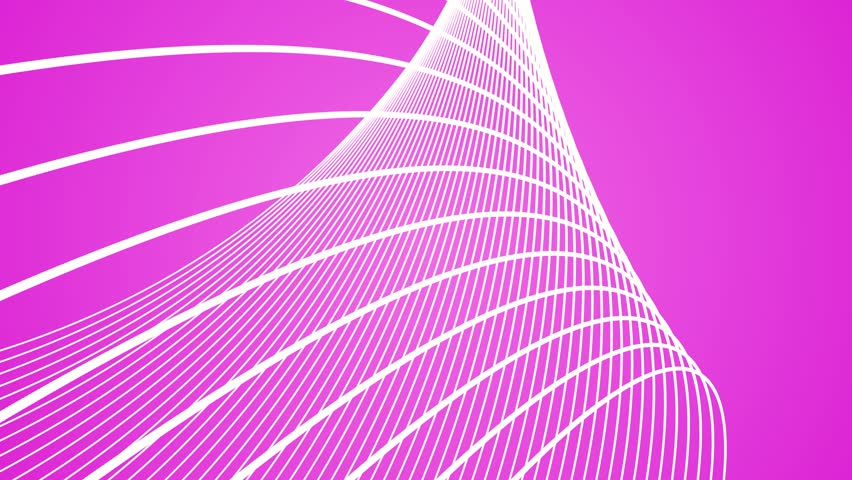 abstract background dancing lines abstract loop geometric white