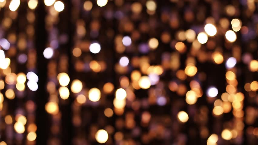 Stock Video Of Abstract Glittering Lights Gold Background