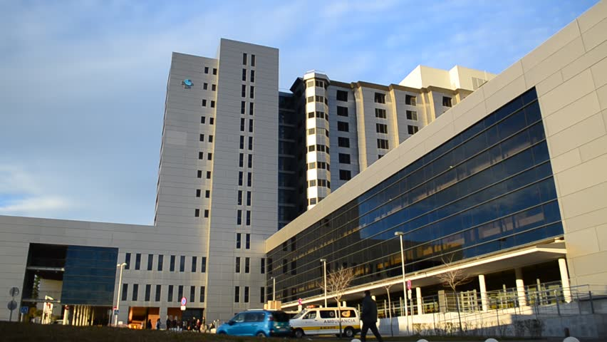Generic Health Care Modern Hospital Exterior Building