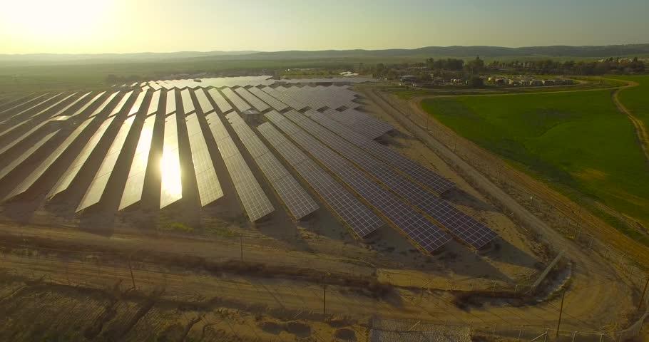 Solar energy, field | Shutterstock HD Video #15604123