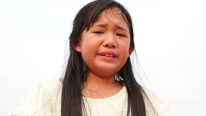 Hispanic Teen Girl Crying With Emotional Pain Stock -2110