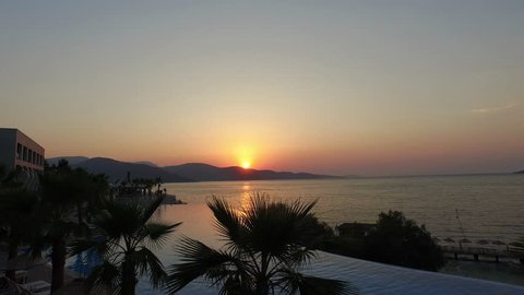 Infinity Pool Sunset Bodrum Torba koyu günbat?m? resort hotel sunset