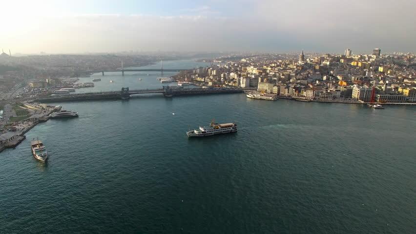 Istanbul, Golden Horn | Shutterstock HD Video #15859786