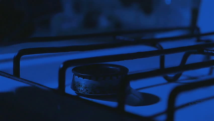 in the Kitchen at the Evening a Man Lights the Match to Light the Gas Stove & A Man Lighting The Gas Stove With A Match. Stock Footage Video ... azcodes.com