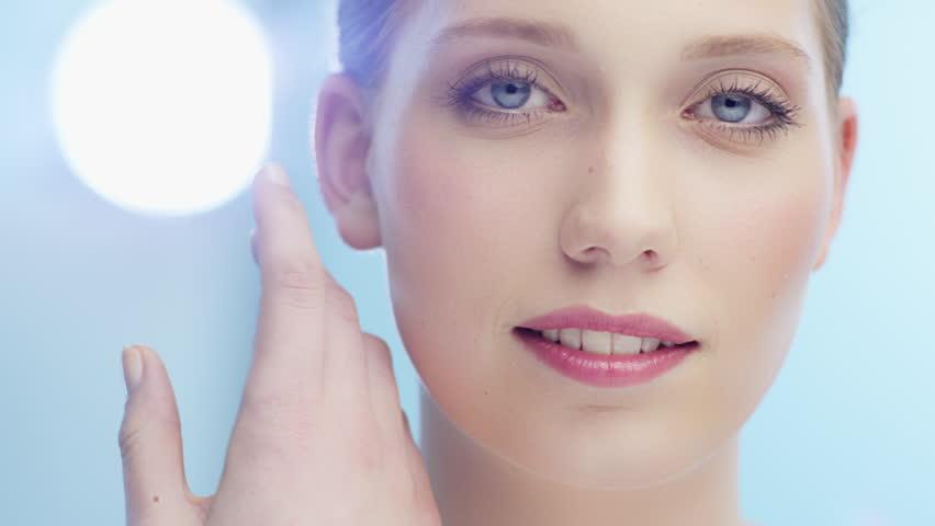 Beauty shoot of young stunning woman   Shutterstock HD Video #15961966