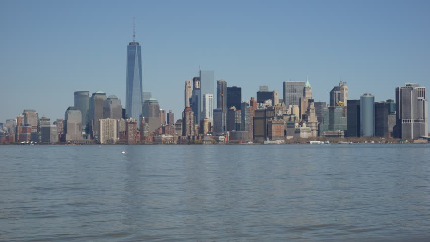 Hd00 15timelapse Of New York City Manhattan Downtown With Blue
