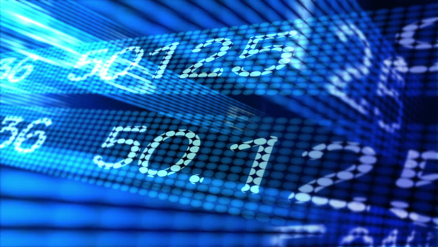 Stock market themed background animation. | Shutterstock HD Video #1605292