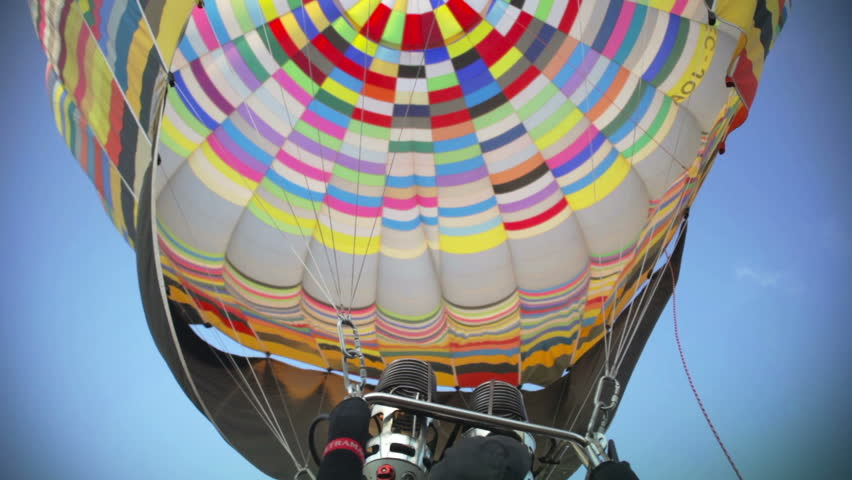 IGUALADA - JULY 4: Hot air balloon is  launched during the European Balloon Festival, July 4, 2011 in Igualada, Spain.