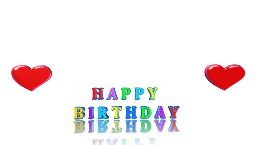 Birthday Card Video Animation
