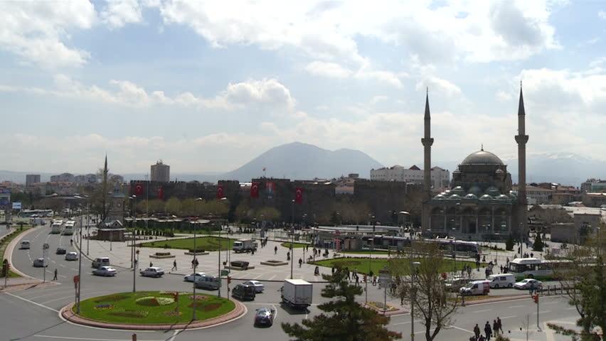 Kayseri City in Turkey-Center of city