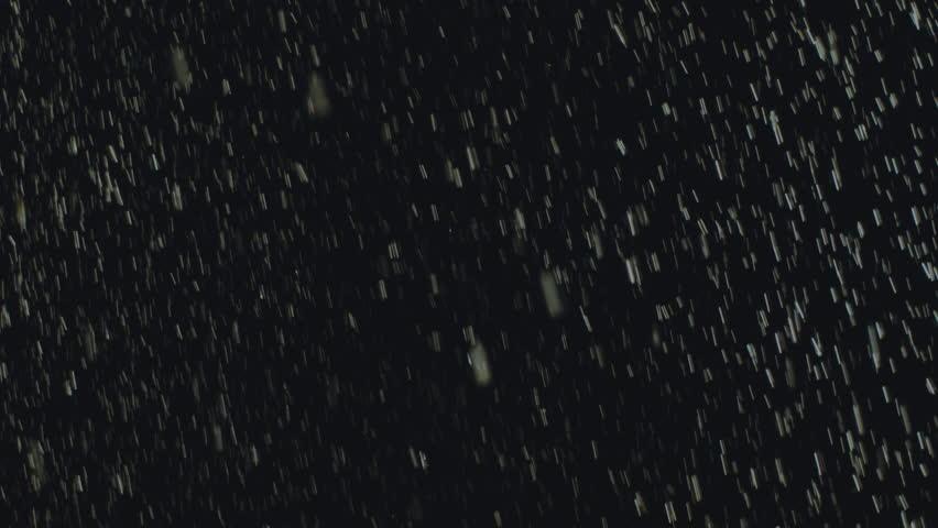 Regn på sort baggrund Stock Footage Video 4581887 Shutterstock-6576