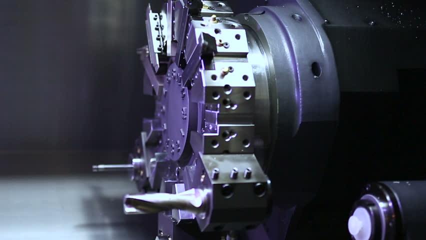 Mechanism of CNC Spring Production Machine   Shutterstock HD Video #16142326