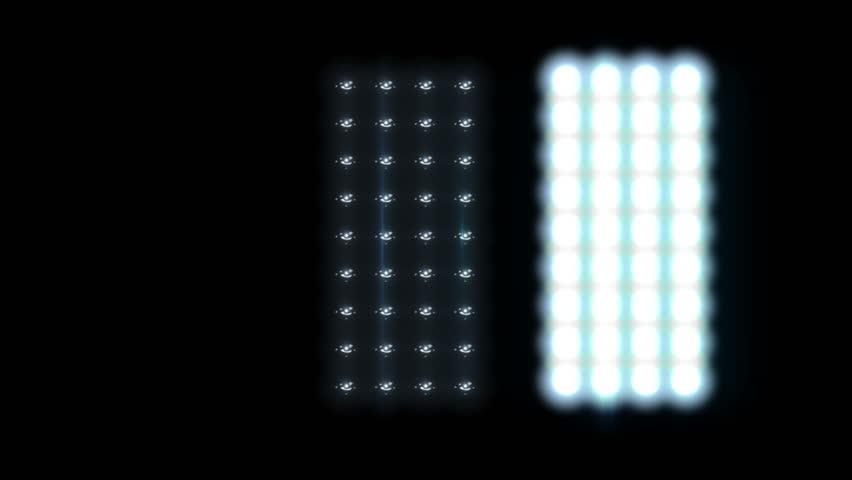 Floodlights Flash lights  | Shutterstock HD Video #1619218