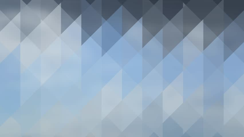 Abstract Background Of Triangles In A Geometric Pixelated