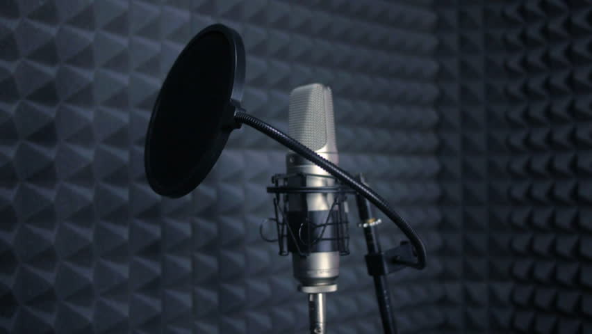 Studio Recording Professional Microphone In The