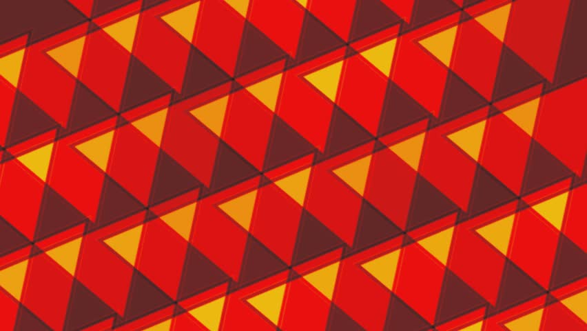 Geometric Red Yellow Triangles Abstract Stock Footage Video 100 Royalty Free 16264246 Shutterstock