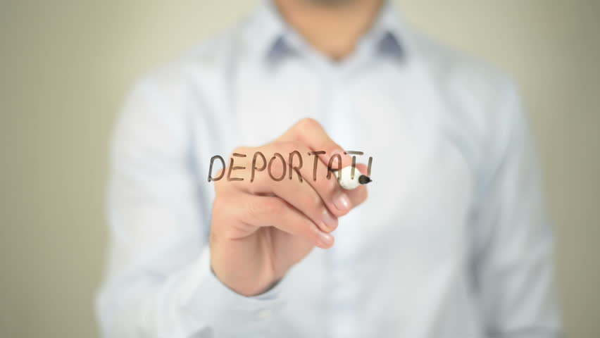 Header of deportation