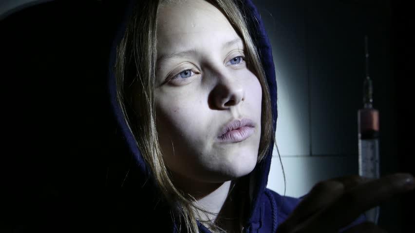 Teen Girl  Drug Addiction  Depressed Stock Footage Video (100%  Royalty-free) 16560646 | Shutterstock