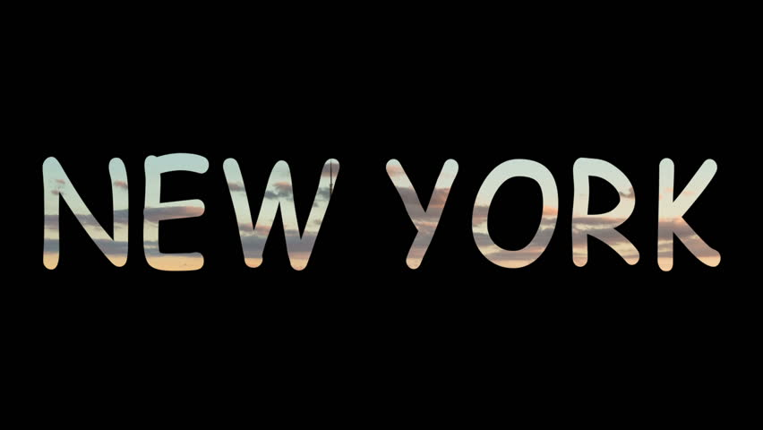 Stock video of new york city animation graphic 16984456 shutterstock publicscrutiny Choice Image