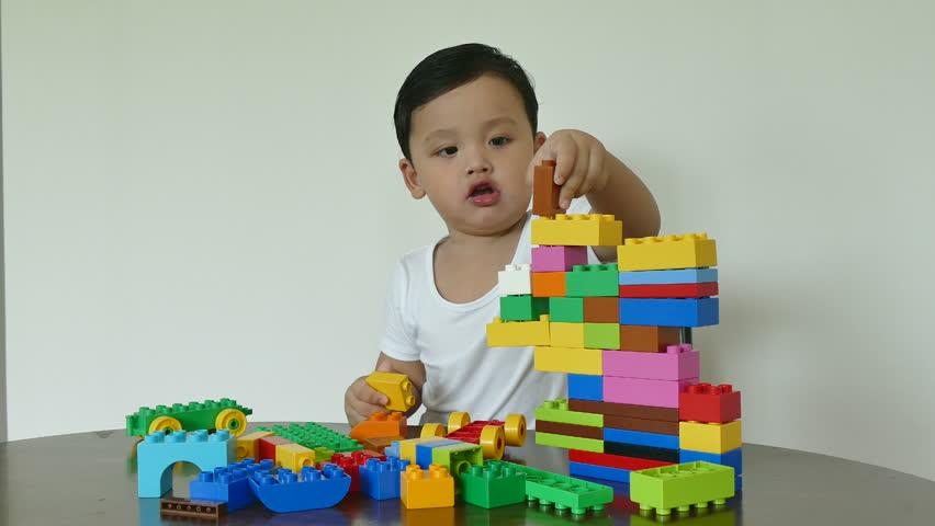 Asian boy toy