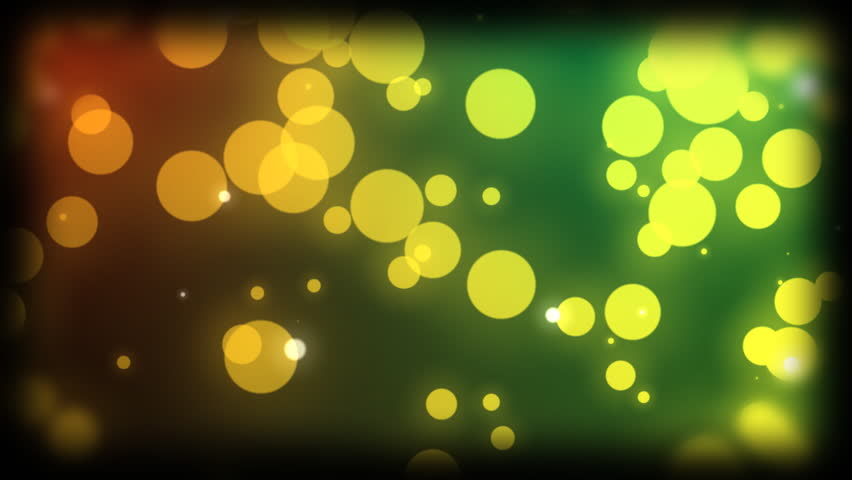 HD circle particles background animation. | Shutterstock HD Video #1707226