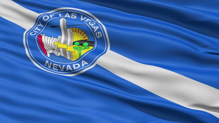 Nevada Kansas Waving American State Capital City Flag Animation