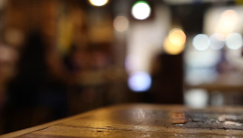 Header of blurred