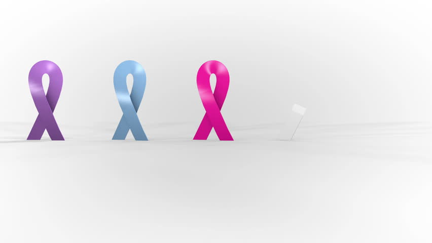 Fight Against Cancer Symbol Ribbons Of Different Colors Cancer