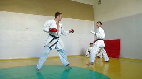 Karate Fight Stock Footage Video (100% Royalty-free) 1717225