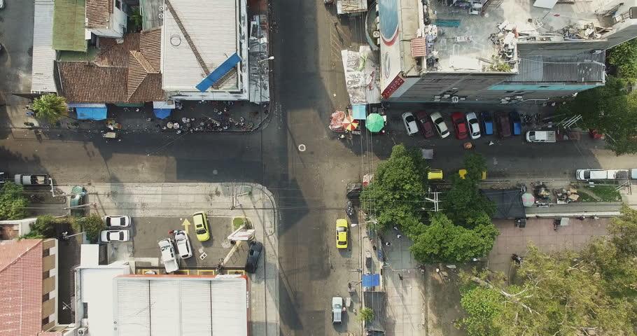 San Salvador El Salvador May An Aerial View Of The - Satellite image photo of el salvador