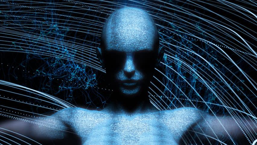 Digital Woman Cyborg Art