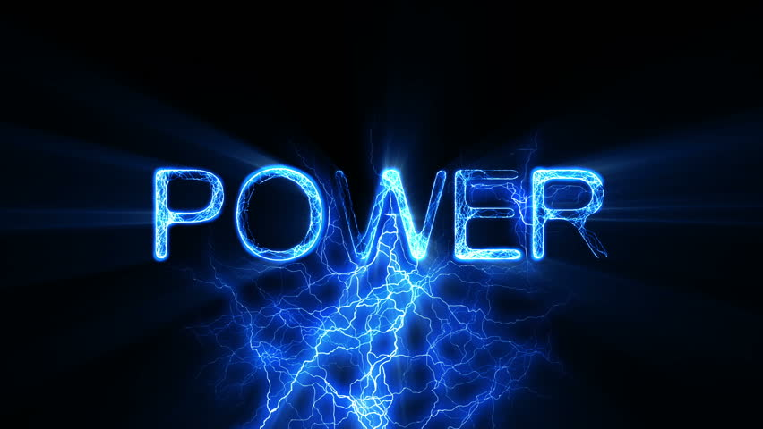 Electric Word Text Animation With Electrical Lightning ...  Electric Word T...